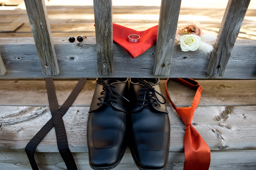 accessories morning groom prep