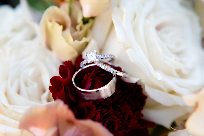 rings morning bride prep