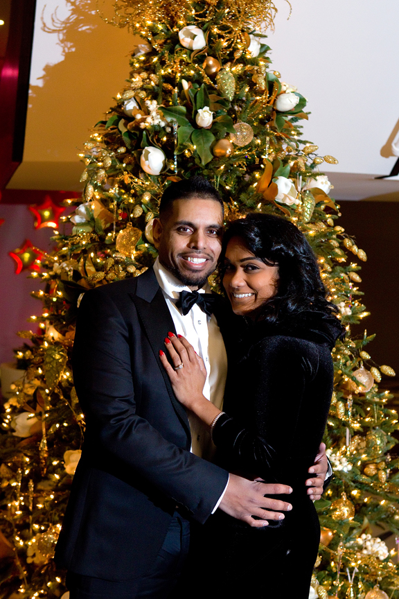 Christmas Wedding proposal
