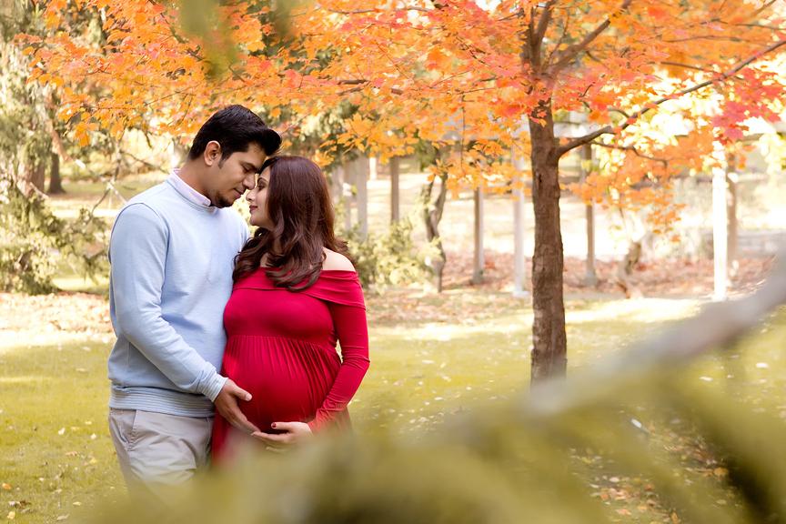 Pregnancy Portrait at Rosetta McClain Gardens