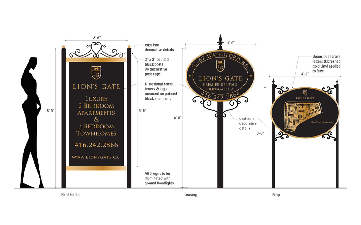 Lion's Gate Branding