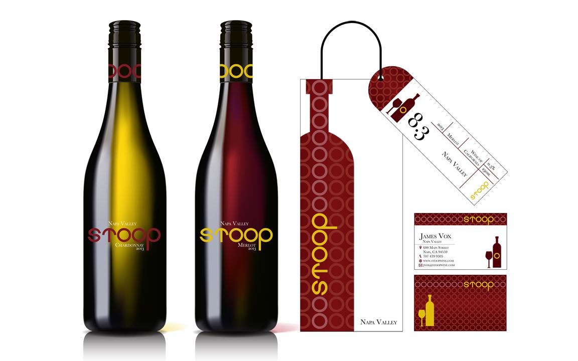 Stoop Wine Branding