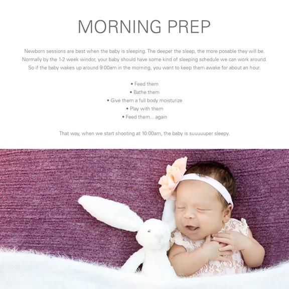 Newborn Prep Guide