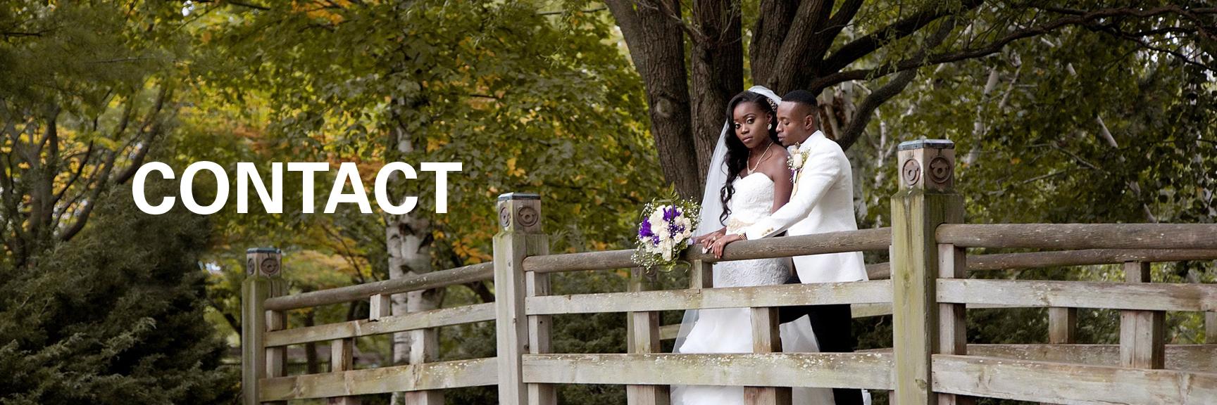 wedding couple at Kariya Park