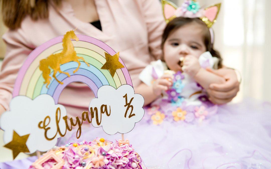 Eliyana Half Birthday