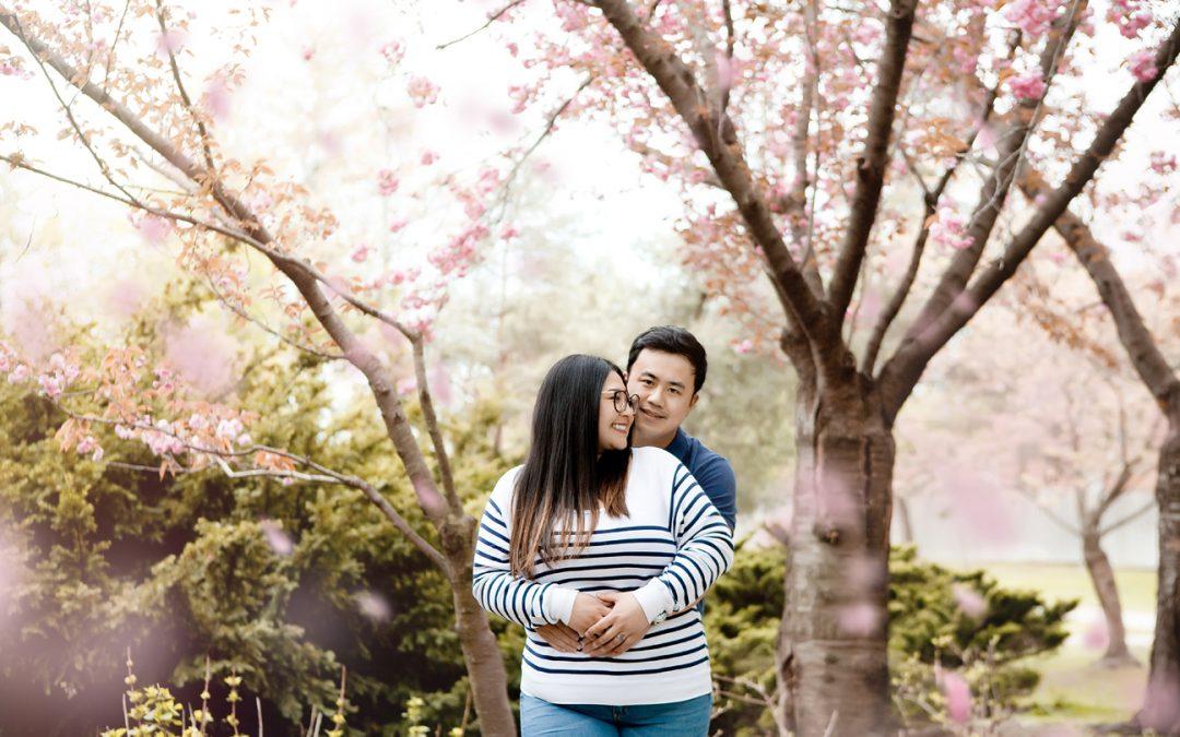 Dhalia & Vincent Cherry Blossom Mini