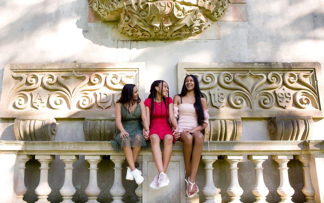 Amber, Olivia, and Ashley Graduation