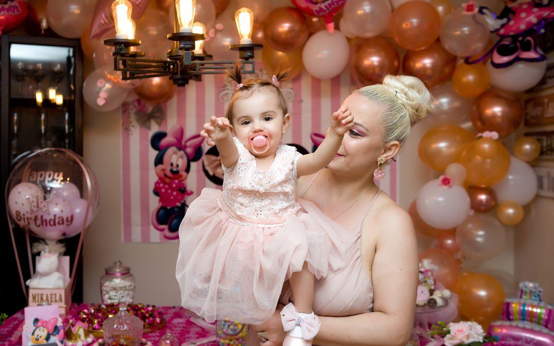 Mikaela 1st Birthday